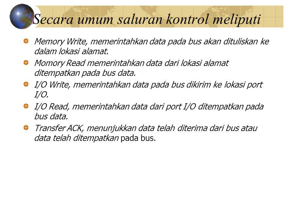 Bus Request, menunjukkan bahwa modul memerlukan kontrol bus.