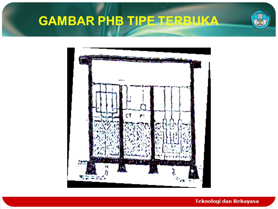 Teknologi dan Rekayasa GAMBAR PHB TIPE TERBUKA