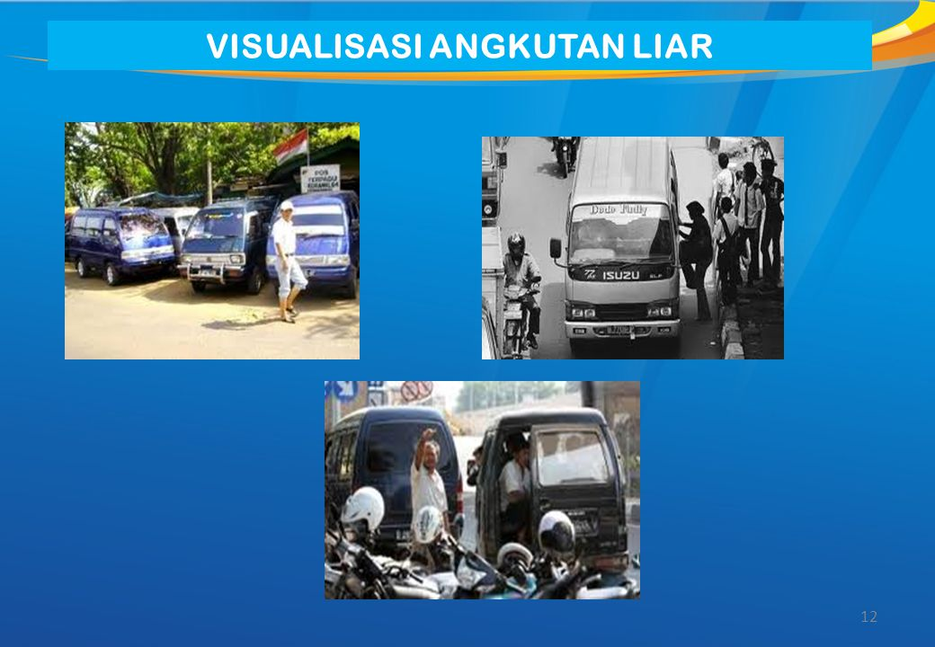 12 VISUALISASI ANGKUTAN LIAR