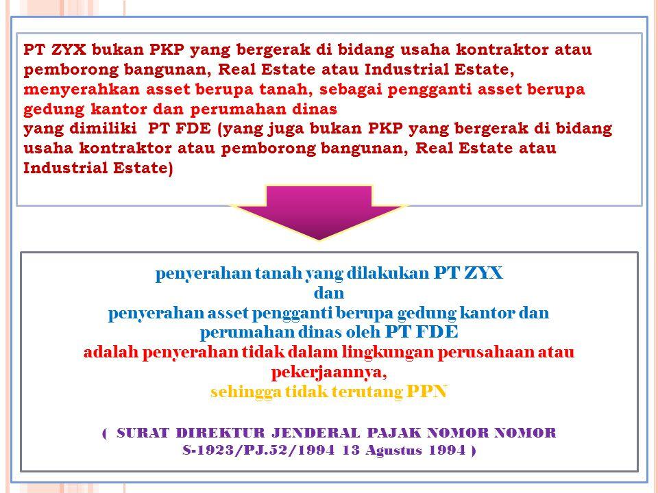 DAERAH PABEAN wilayah Republik Indonesia yang meliputi wilayah darat, perairan, dan ruang udara diatasnya, serta tempat-tempat tertentu di Zona Ekonomi Eksklusif dan landas kontinen yang di dalamnya berlaku Undang-Undang yang mengatur mengenai kepabeanan [ Pasal 1 angka 1 UU PPN ]