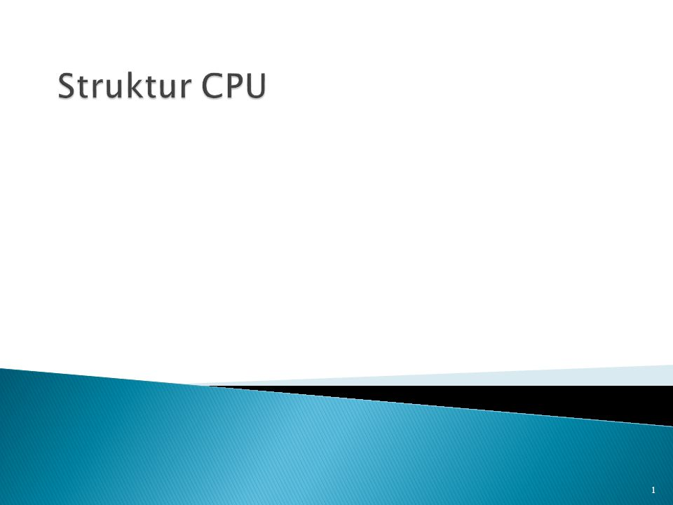  Central Processing Unit  Merupakan komponen terpenting dari sistem komputer  Komponen pengolah data berdasarkan instruksi yang diberikan kepadanya  Dalam mewujudkan fungsi dan tugasnya, CPU tersusun atas beberapa komponen 2