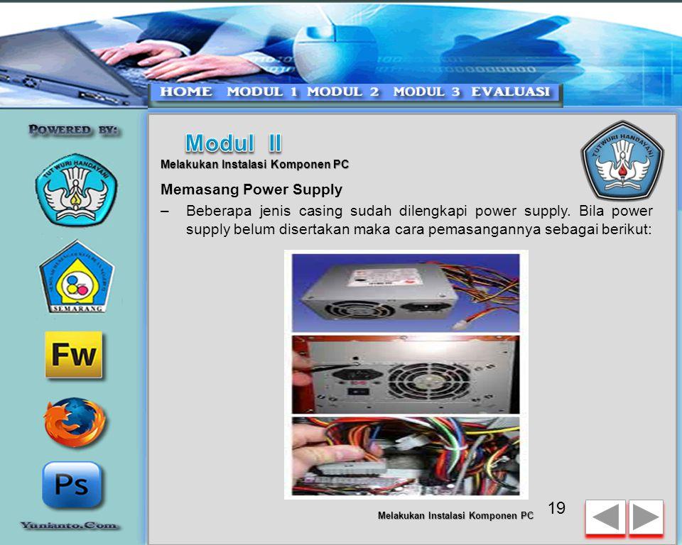 18 Melakukan Instalasi Komponen PC CARA MEMASANG MOTHERBOARD