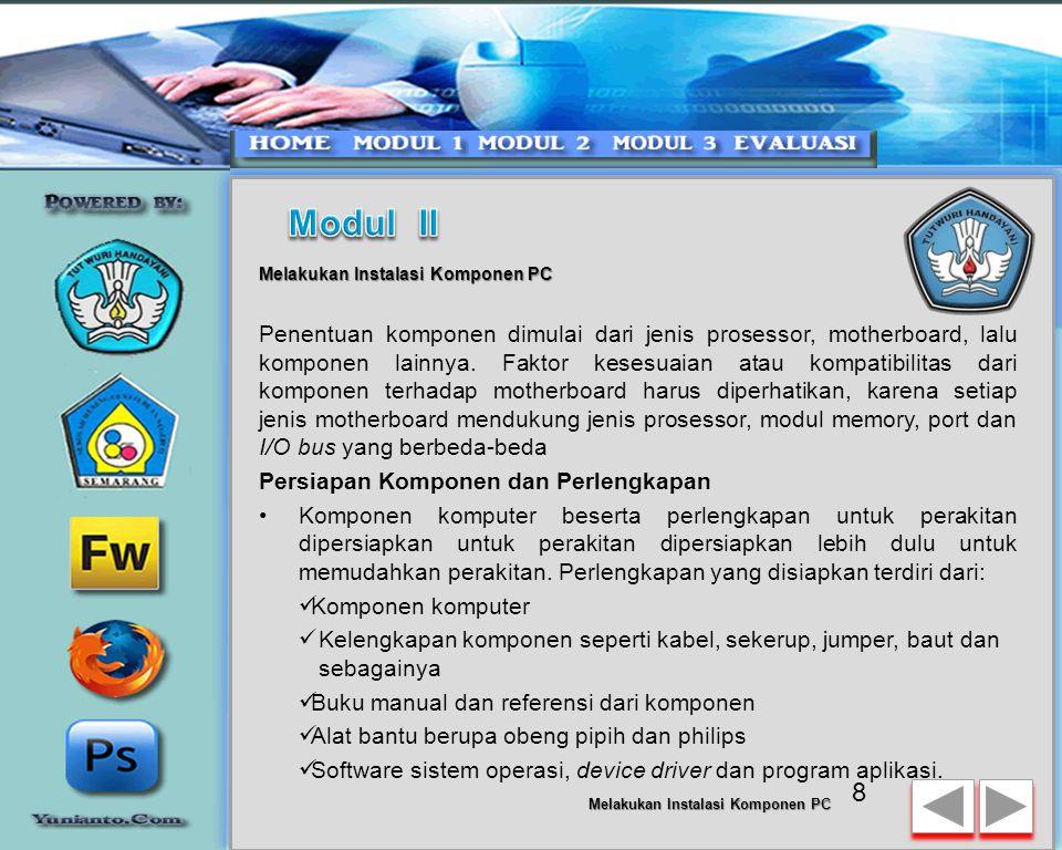 Memeriksa Hasil Perakitan PC dan Pemasangan Periferal 28