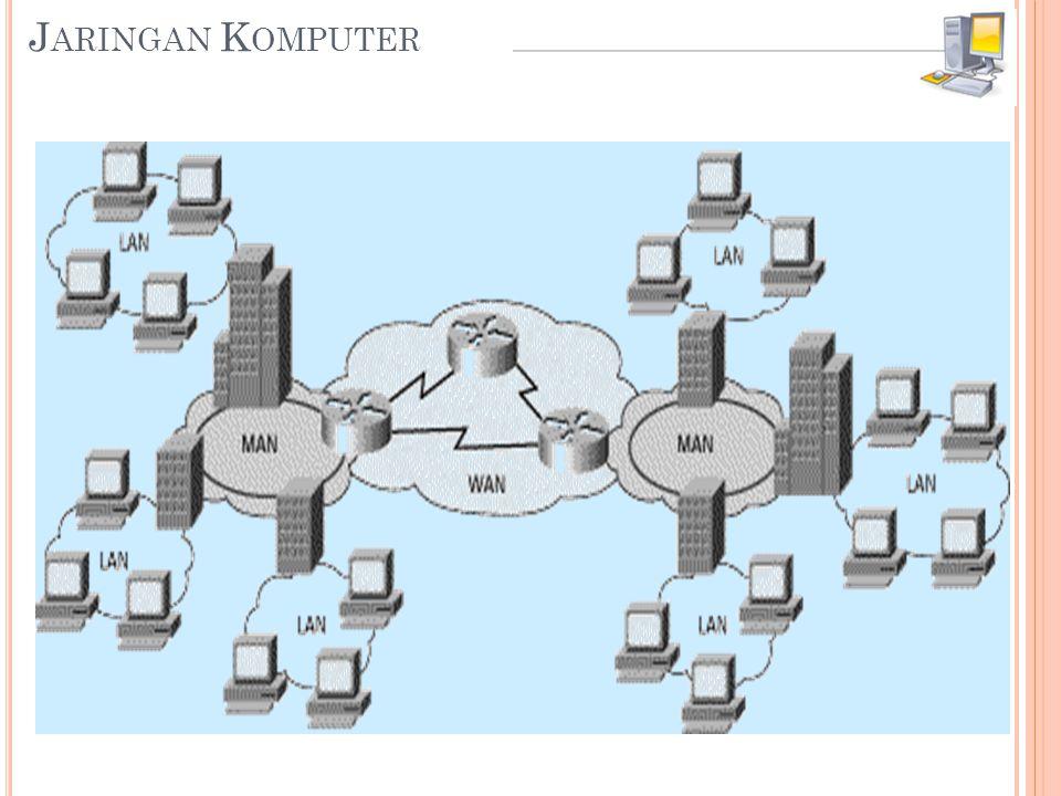 Jaringan Komputer merupakan hubungan dua atau lebih sistem komputer yang terpisah.