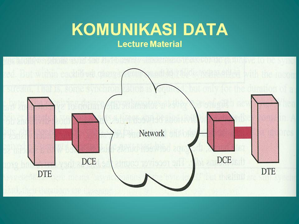 •Half-Duplex Mode Kedua titik bisa mengirim dan menerima tapi tidak pada saat yang bersamaan.