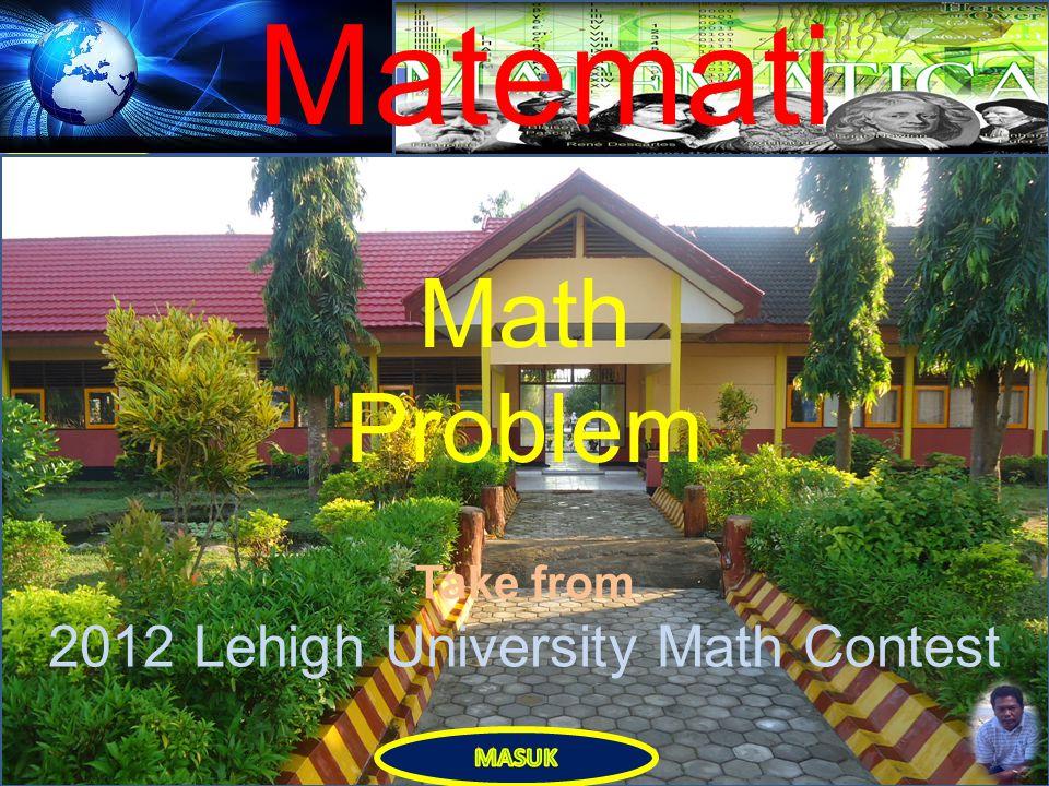 Matemati ka Muhammad Yusuf, S.Pd.