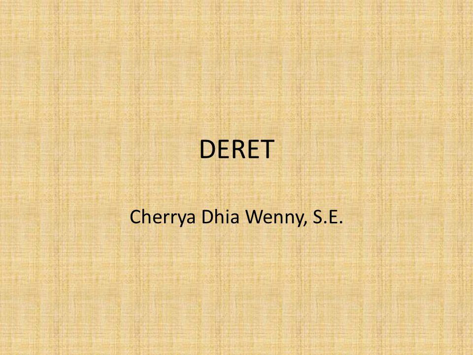DERET Cherrya Dhia Wenny, S.E.