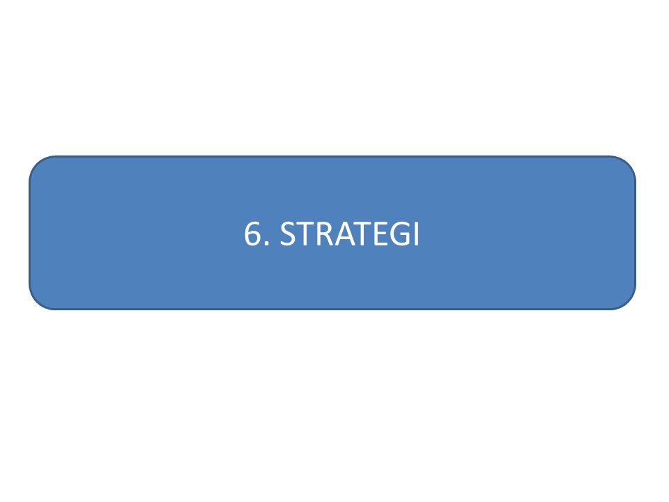 6. STRATEGI