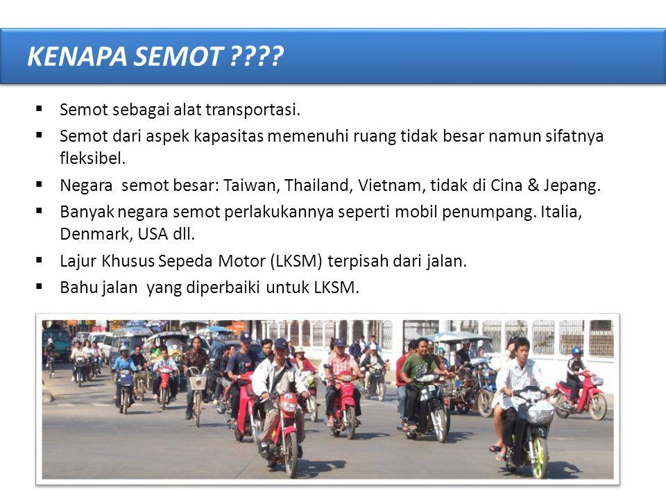 • Kecelakaan Lalu-Lintas yang melibatkan pengendara sepeda motor merupakan bagian dari permasalahan global keselamatan jalan (road safety); • Diperlukan penanganan menyeluruh dalam peningkatan keselamatan jalan UPAYA PENINGKATAN KESELAMATAN