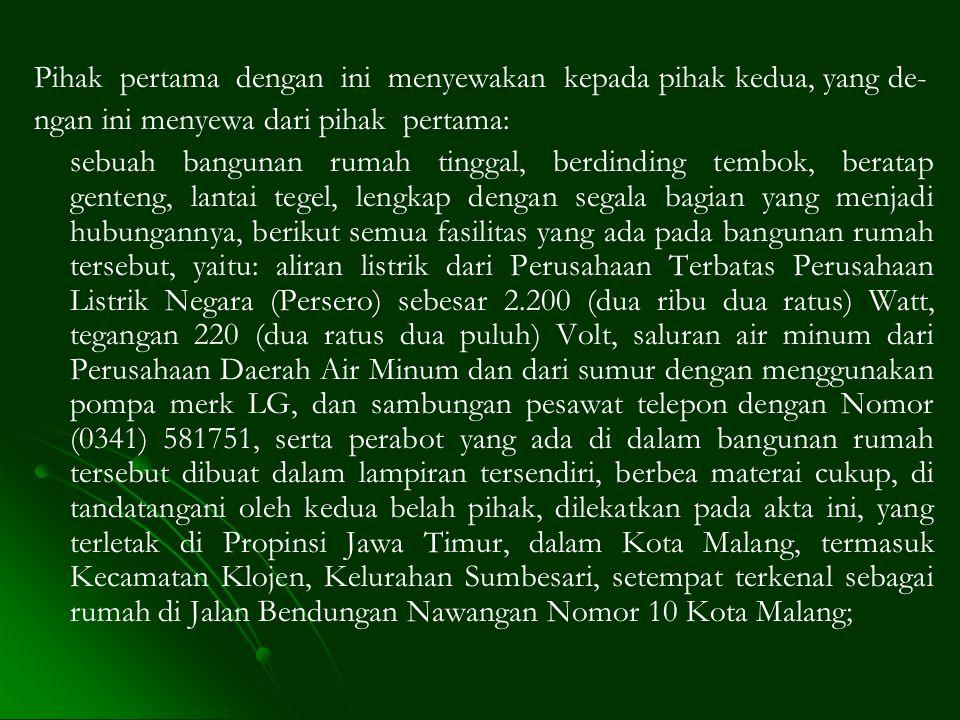 II.KHAIRUL ANWAR, lahir di WP Kuala Lumpur pada tanggal 28.07.1986 (dua puluh delapan Juli seribu sembilan ratus delapan puluh enam), Warga Negara Mal