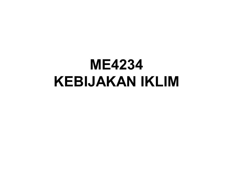 ME4234 KEBIJAKAN IKLIM