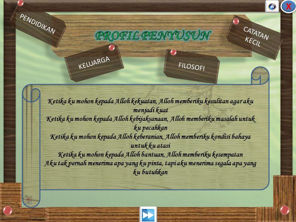 Madrasah Ibtidaiyah Nurul Islam ( 1991) SMPN 2 Genteng ( 1994 ) MAN Genteng ( 1997 ) Pendidikan Matematika FKIP UJ ( 2002) Madrasah Ibtidaiyah Nurul I