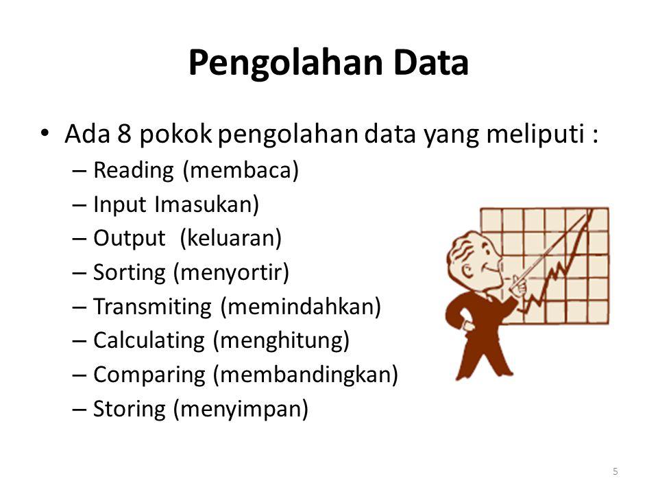 Fungsi Informasi •Dalam pengertian ini yang disebut informasi adalah hasil olahan data sebagai bahan bagi pengambilan keputusan pimpinan.