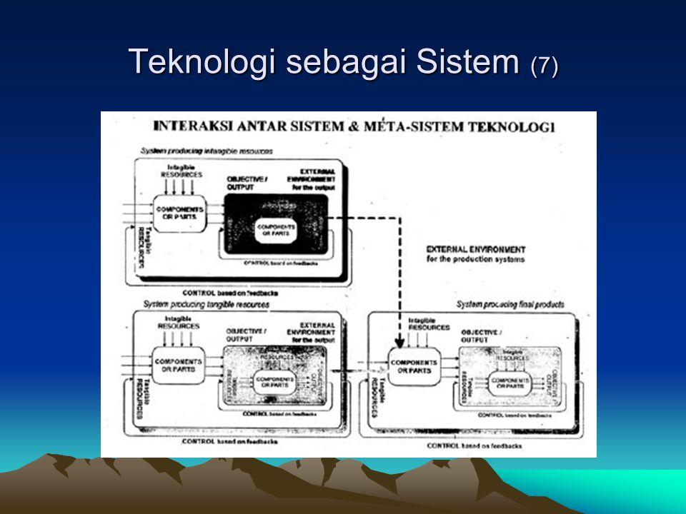 Teknologi sebagai Sistem (7)
