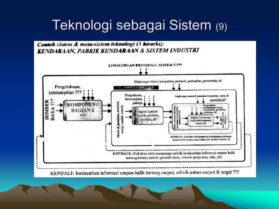 Teknologi sebagai Sistem (9)