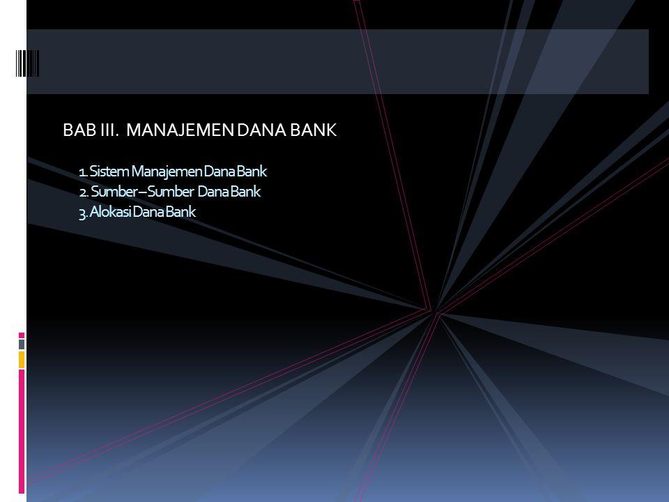 6.Sound banking business Performance atau penampilan hasil usaha diukur dari 5 indikator yang disebut CAMEL, yaitu : • Capital adequacy (permodalan) A