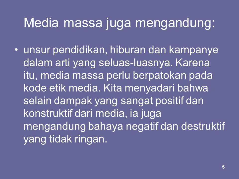 6 Trend Manajemen Media: •Trend manajemen media jaman sekarang di seluruh dunia adalah melakukan konsentrasi kepemilikan.