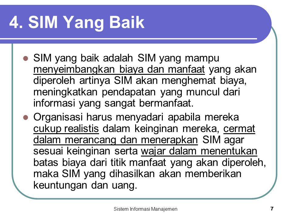 Sistem Informasi Manajemen7 4.