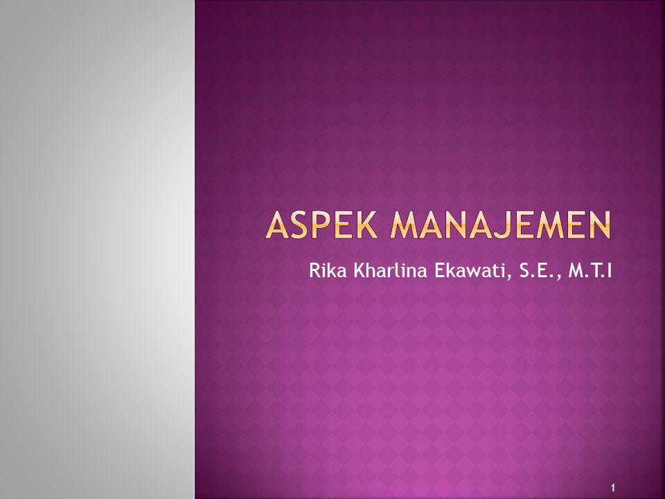 Aspek Manajemen dalam SKB 2