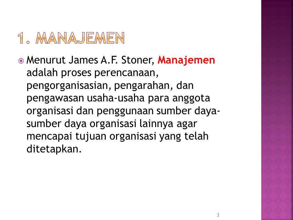 Menurut James A.F.