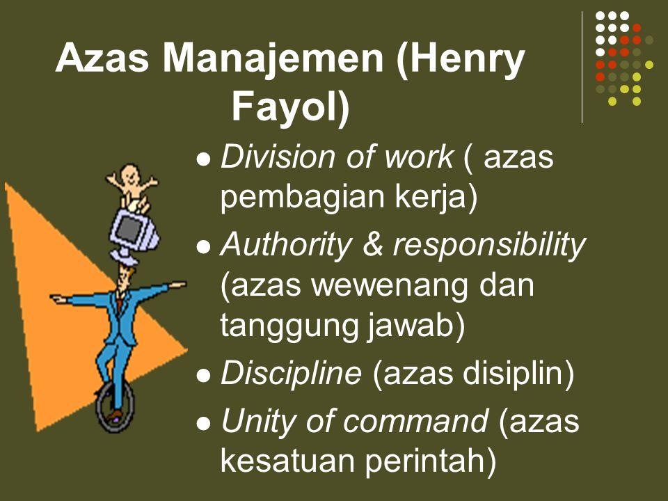Siapa yang membutuhkan Manajemen…??? Organisasi Manusia Perusahaan