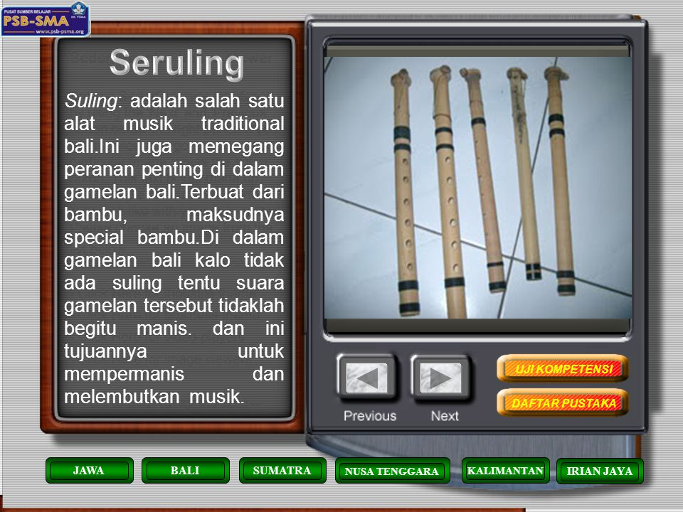 KENDANG:(kupekan) ini adalah salah satu alat musik Bali yang juga di pakai di pertunjukan joged bumbung.Kendang ini fungsinya sangat kuat sekali di da