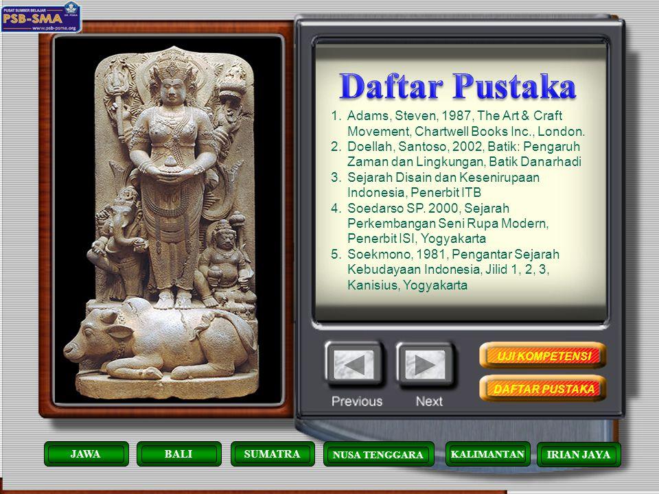 Batik khas Papua yang dominan adalah gambar patungnya. Yang membedakan batik ini dari yang lain, batik papua ini lugas tidak banyak ornamen KALIMANTAN