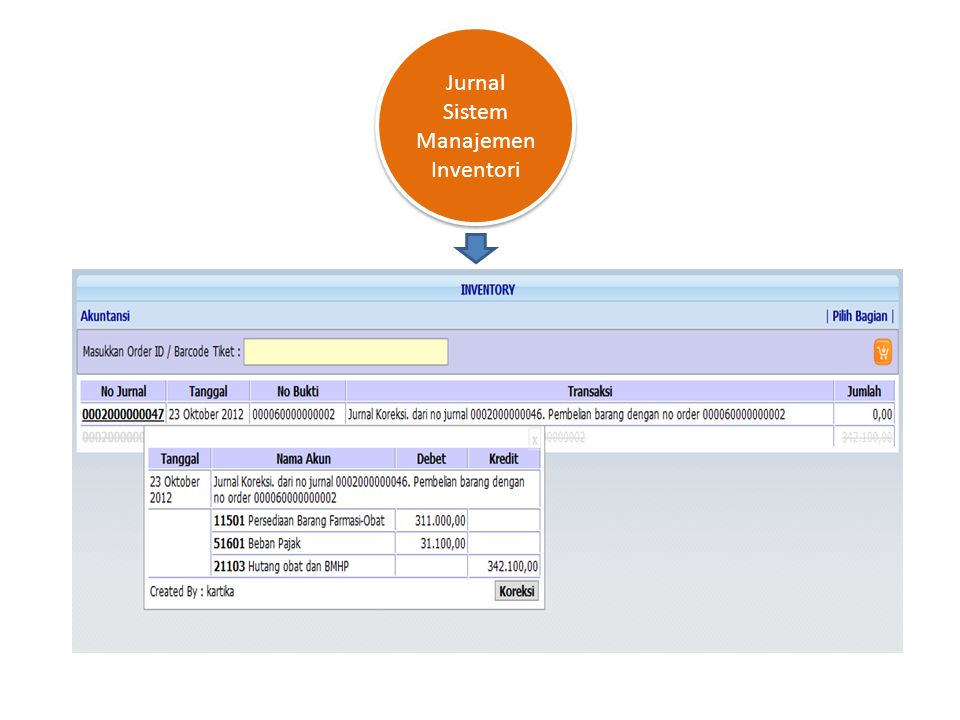 Jurnal Sistem Manajemen Inventori