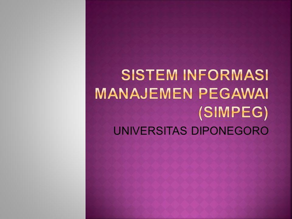  Pesatnya perkembangan teknologi informasi  Kebutuhan informasi yang cepat dan akurat  Penggunaan sistem informasi dimungkinkan adanya otomatisasi pekerjaan dan fungsi pelayanan untuk mewujudkan pelayanan yg baik seperti yg dibutuhkan