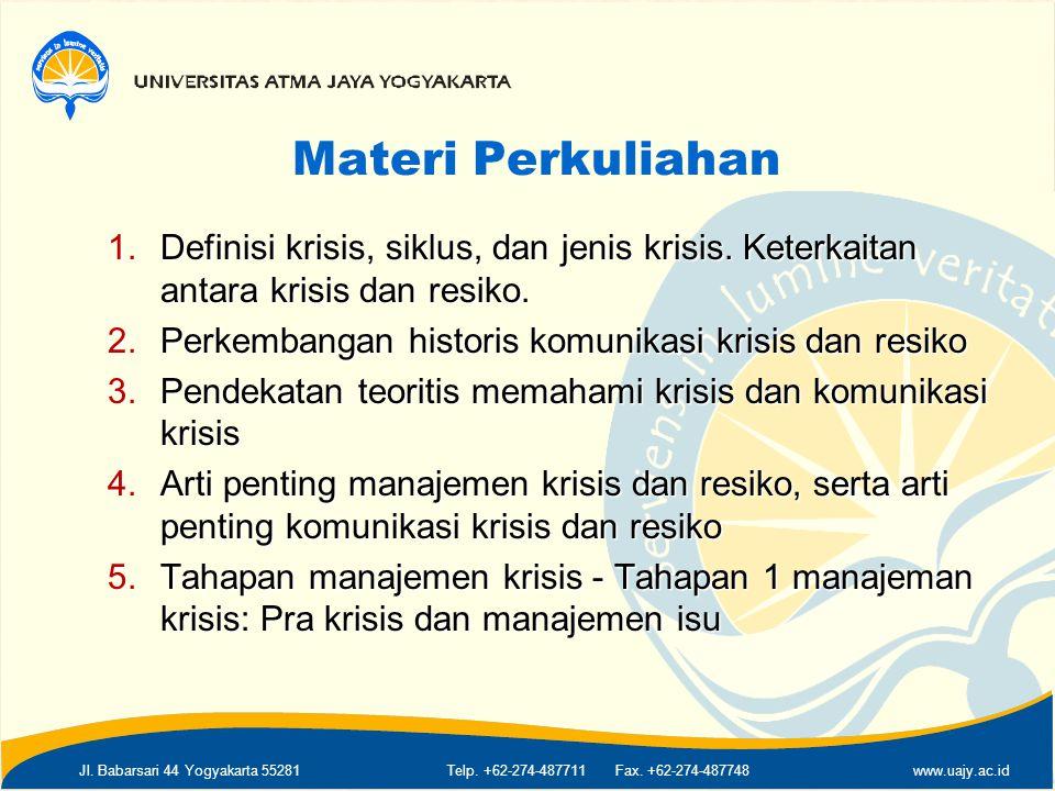 Jl.Babarsari 44 Yogyakarta 55281Telp. +62-274-487711 Fax.