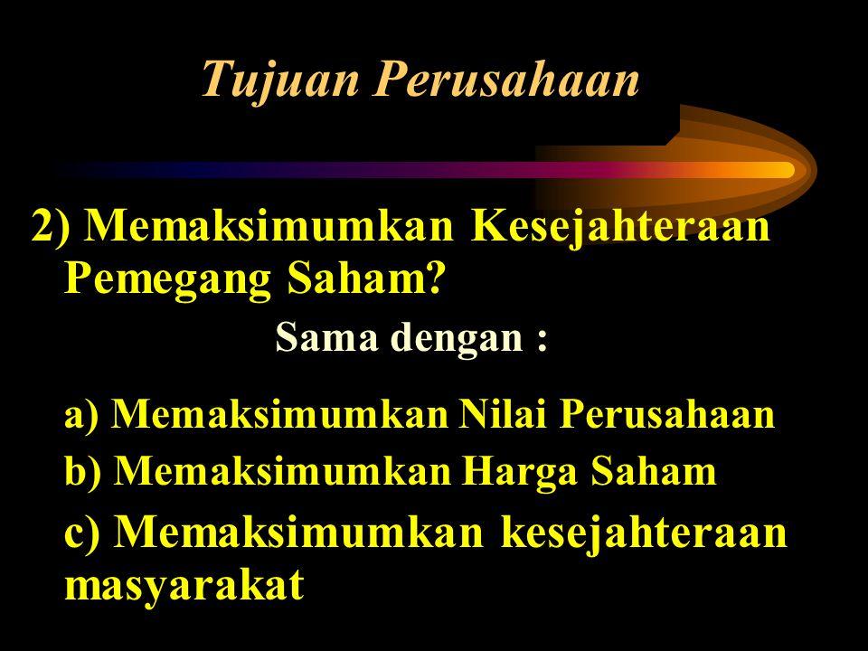 Bentuk Hukum Perusahaan 1) Perorangan / Sole Proprietorship •Dimiliki oleh perorangan / individual.