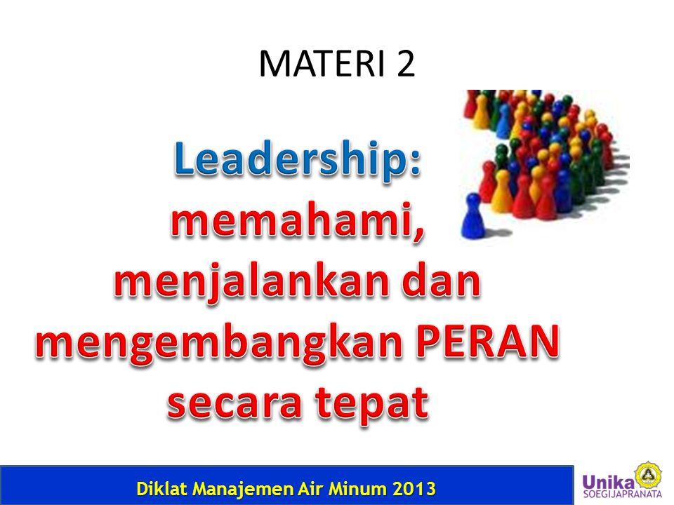 Diklat Manajemen Air Minum 2013 MATERI 2