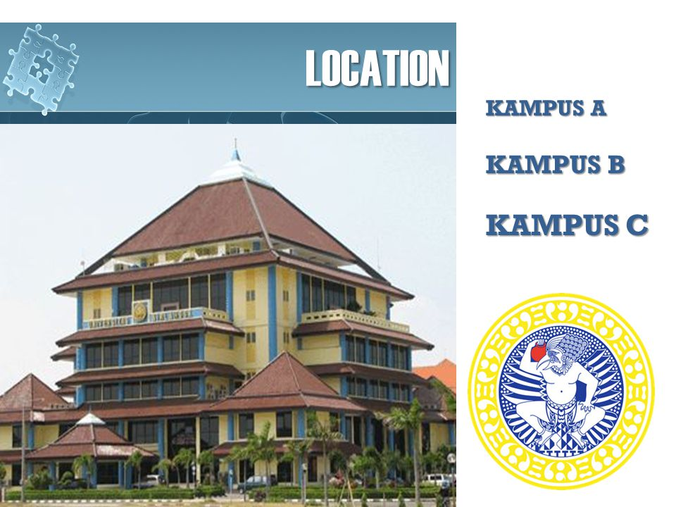 LOCATION KAMPUS A KAMPUS B KAMPUS C