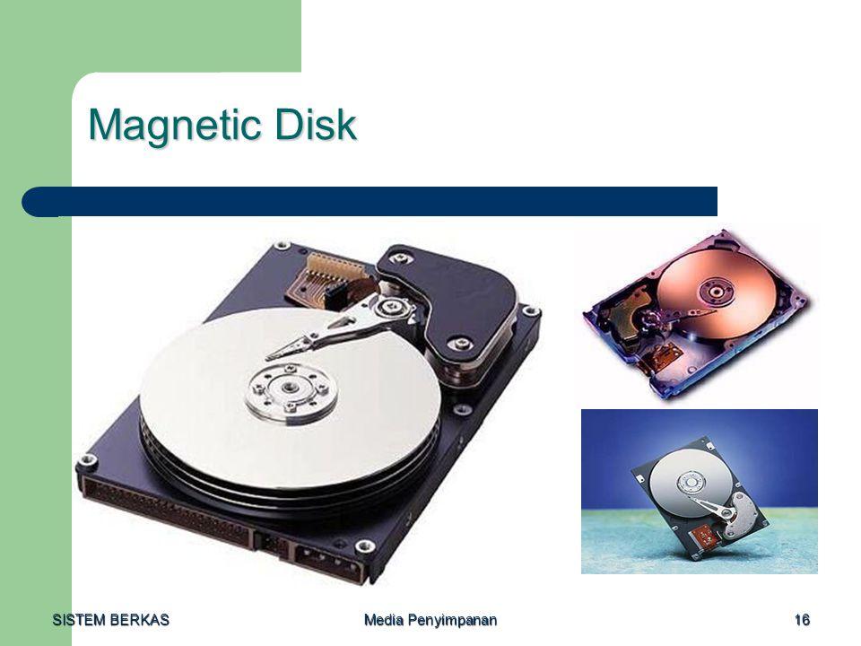 SISTEM BERKAS Media Penyimpanan 16 Magnetic Disk