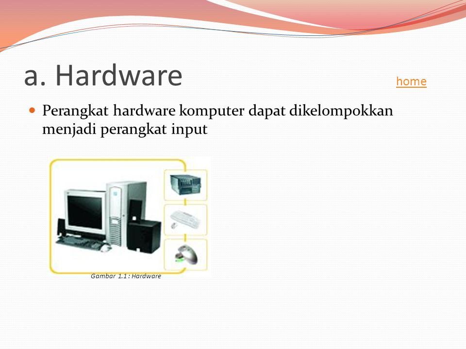 Keyboard adalah alat untuk memasukkan data ataupun perintah ke CPU (Central Processing Unit).