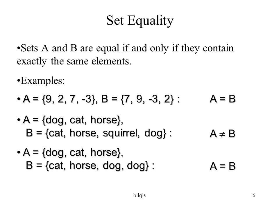 bilqis7 Contoh (example 4): N = { 0, 1, 2, 3, ….