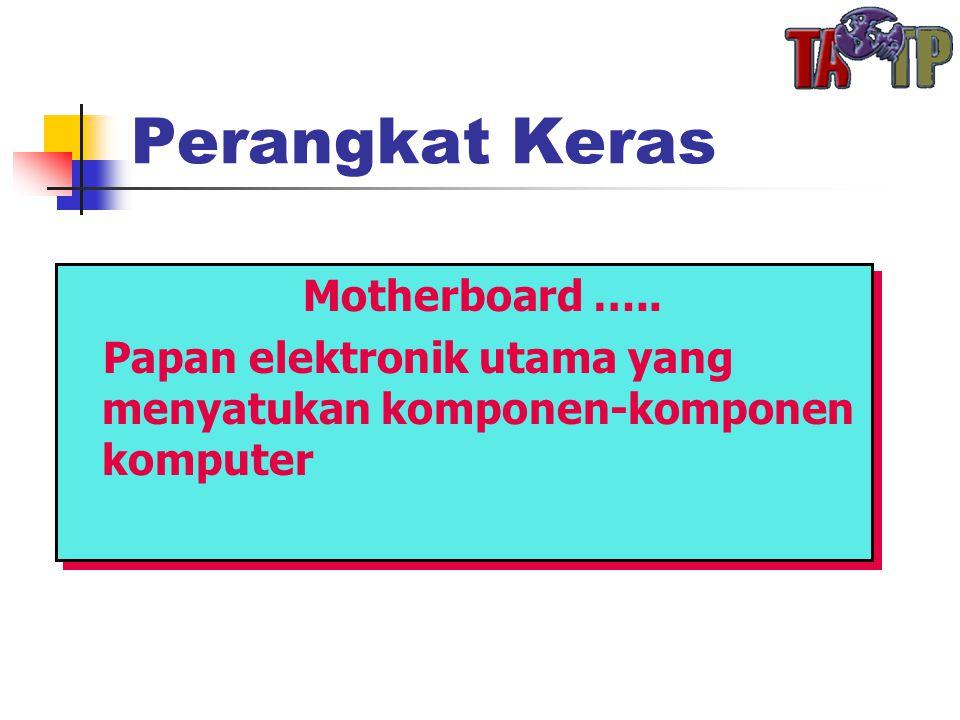 Perangkat Keras Motherboard …..