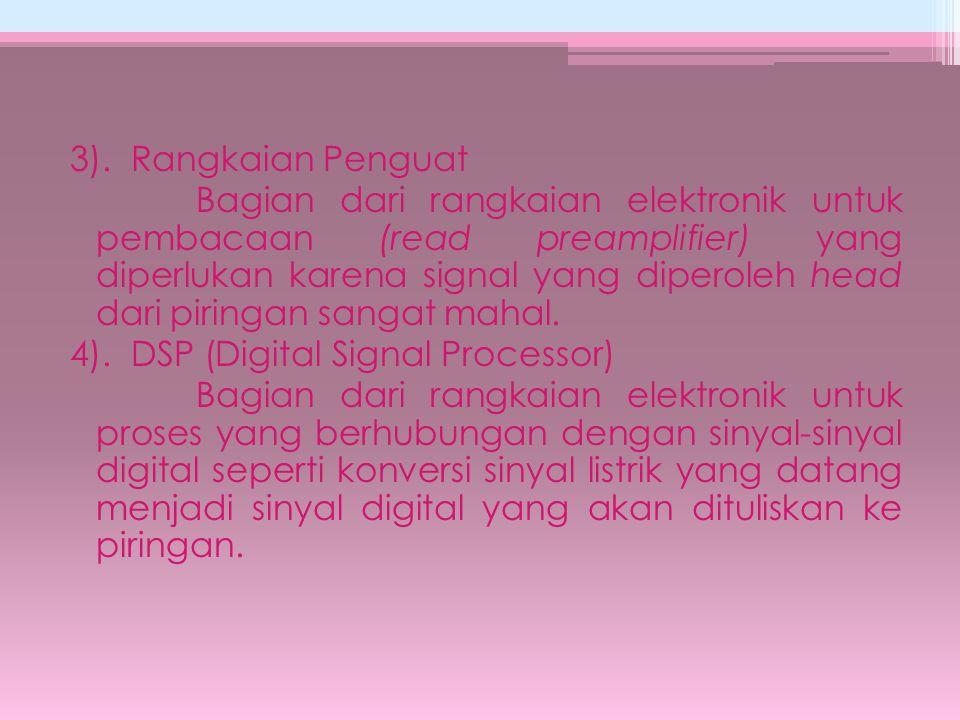 Erasable Optical Disk Kemajuan terbaru dari optical disk ini adalah disk yang dapat ditulis ulang.
