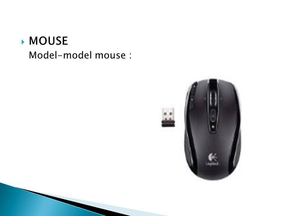  MOUSE Model-model mouse :