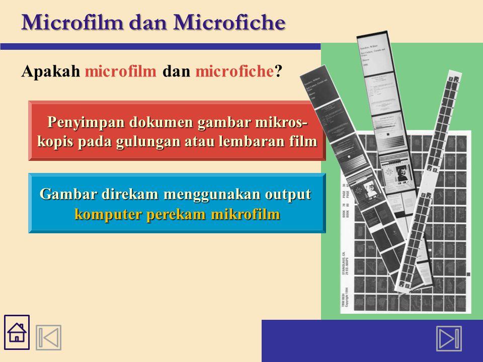 Microfilm dan Microfiche Apakah microfilm dan microfiche.