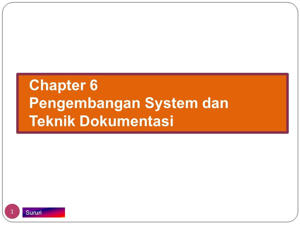 Chapter 6 Pengembangan System dan Teknik Dokumentasi Sururi 1