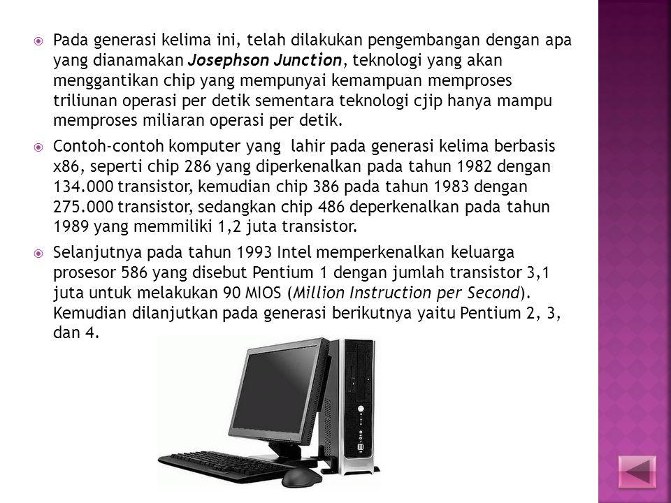  Akhir tahun 1980, IBM memutuskan untuk membuat sebuah komputer personal (PC) secara massal, yang pada tanggal 12 Agustus 1981 menjadi sebuah standar
