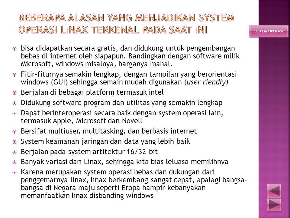  adalah sebuah program (system operasi) open source yang gratis di bawah licenci GNU, system beroperasi pada 32-64-bit, yang merupakan turunan dari U