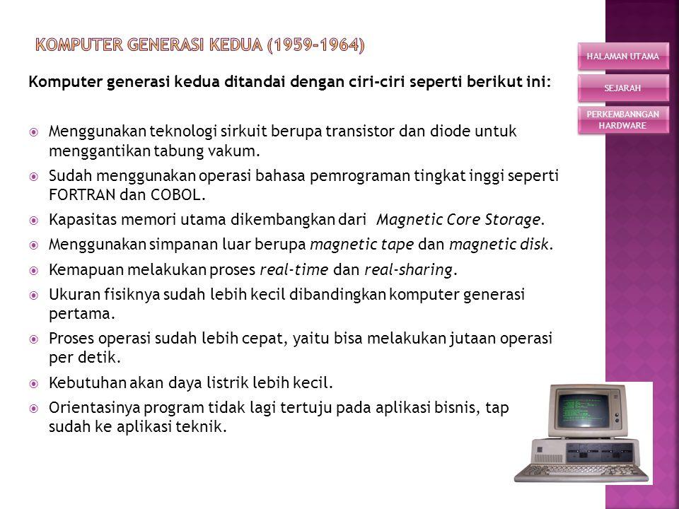  Perangkat lunak (software) adalah perangkat abstrak yang merupakan bagian utama selain hardware dari sistem komputer.