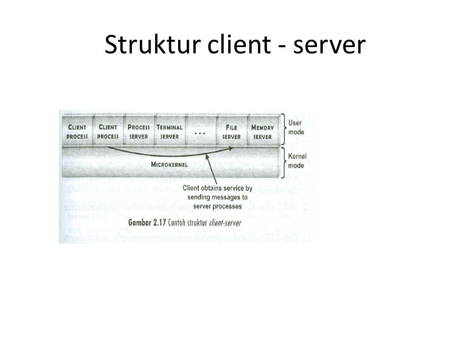 Struktur client - server