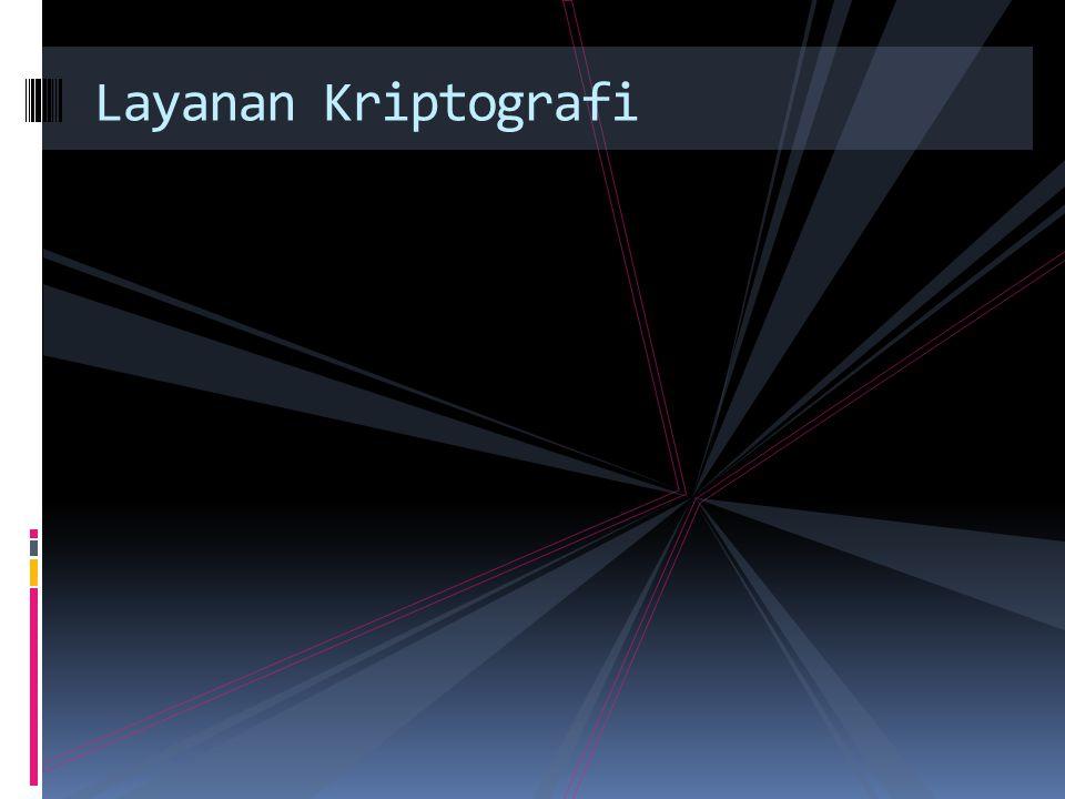 Layanan Kriptografi