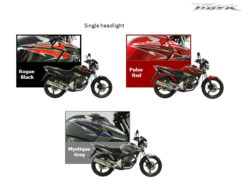 Honda New Tiger Yamaha Scorpio ZBajaj Pulsar 200