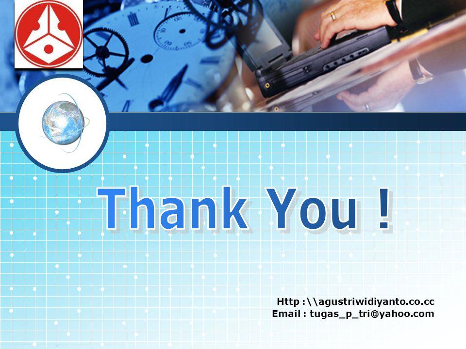 LOGO Http :\\agustriwidiyanto.co.cc Email : tugas_p_tri@yahoo.com