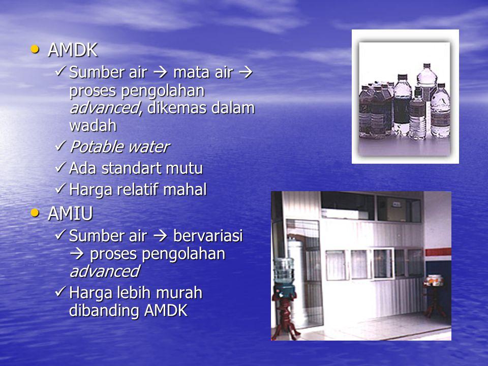 PERATURAN TENTANG PERSYARATAN AIR MINUM • PERATURAN MENTERI KESEHATAN REPUBLIK INDONESIA NO.
