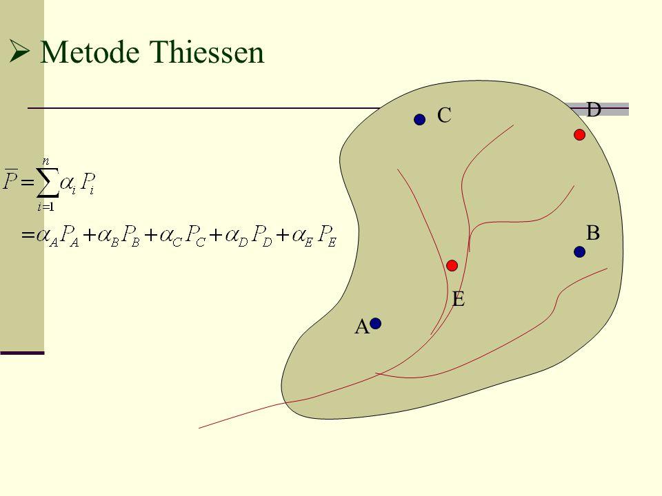  Metode Thiessen A B C D